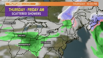 Storm Team 2 Patrick Hammer Has Your Midday Forecast For March 25, 2020