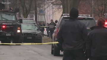 Standoff ends peacefully on Buffalo's West Side