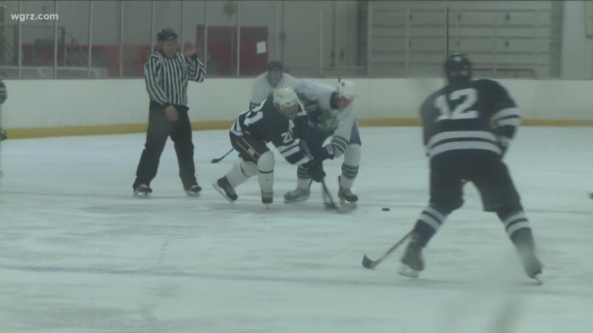 Hamburg Evans Police Departments Play Charity Hockey Game Wgrz Com