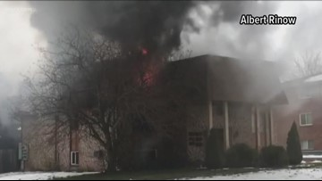 Fire Breaks Out in Lockport Apartment Complex