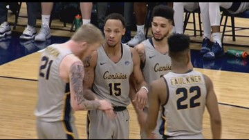 Griffs Use Big Second Half to Beat Monmouth 80-66