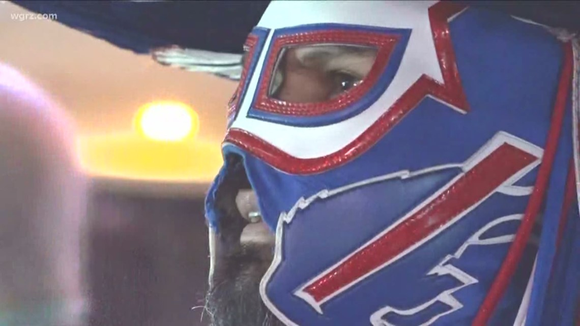 "Superfan Pancho Bills hospitalized after oxygen reaches ""dangerously low"" levels"