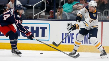 Columbus Blue Jackets dump Buffalo Sabres, 4-1