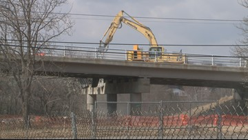 Niagara Parkway Bridge coming down