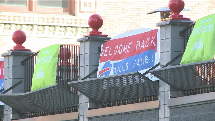 Chippewa hosts second Bills block party