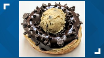 Paula's Donuts to make Chocolate Chip Cookie Dough donut