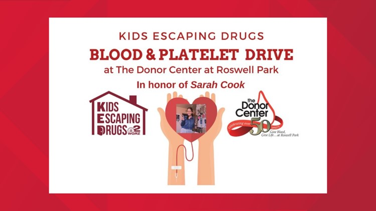 Kids Escaping Drugs - March Blood & Platelet Drive