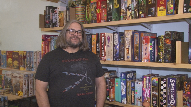 Buffalo shop encourages people to 'Gather & Game' on West Side