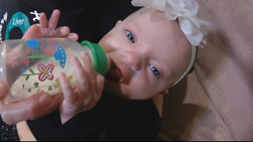 Baby Summer's journey to find a new liver