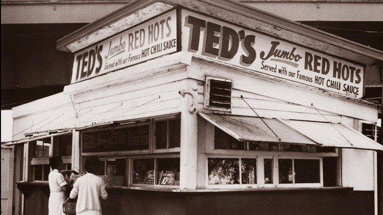 Ted's Hot Dogs original stand
