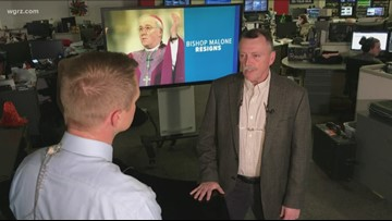 Spotlight reporter shares thoughts as Buffalo Bishop resigns