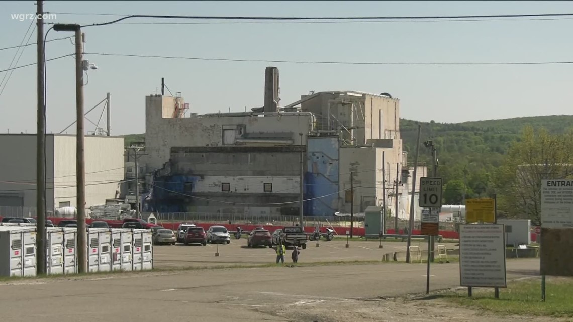 Contaminated West Valley Project building to be demolished