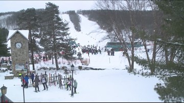 Snow brings business to Ellicottville