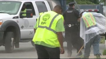 Mayor Kicks Off Clean Sweep Season in Buffalo