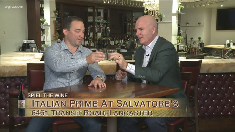 Kevin is at Italian Prime at Salvatore's to discuss the Spirits and Wine List
