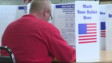 Thousands of voters cast their ballot early