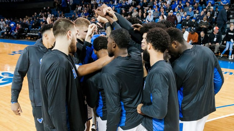 UB, Canisius men win regular season finales