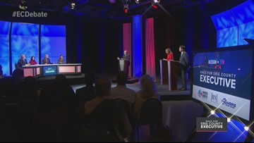Erie County Executive Debate: The bully comment