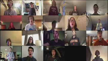 Amherst High School hopes to inspire with virtual choir
