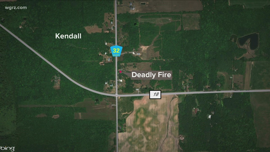 73 year old killed in orleans Co fire