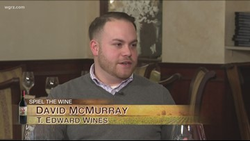 Kevin is at Salvatore's joined by David McMurray of T. Edward Wines for this week's Wine of the Week