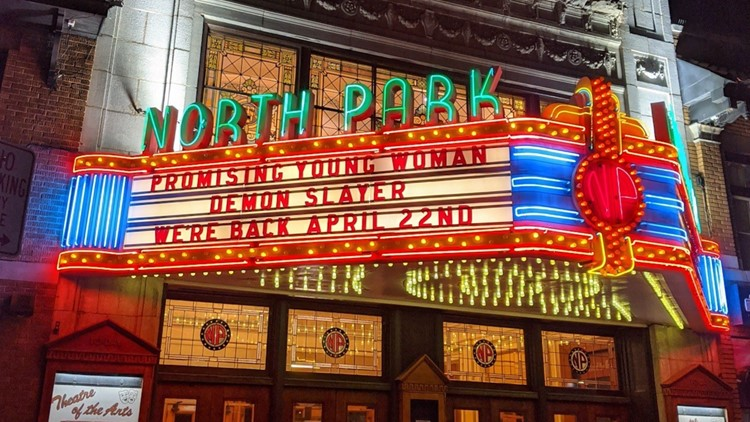 Marquee attraction: North Park Theatre open again, at limited capacity