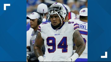 Bills' DT Kyle Peko's wife, Giuliana announces she is cancer free