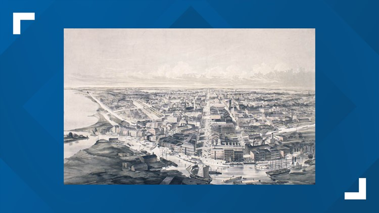The dark history of Buffalo's Canal District