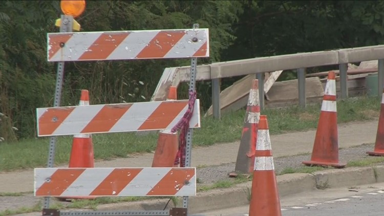 Why is the East Eden Road Bridge still Closed?