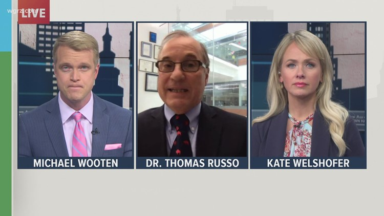Friday Town Hall: Dr. Thomas Russo discusses the importance of COVID vaccinations