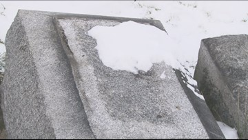 Lions Club Wants To Repair Damaged Headstone