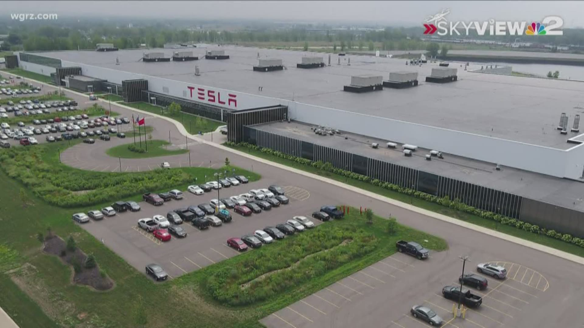 Tesla To Suspend Operations At South Buffalo Plant For Now Wgrz Com