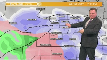 Storm Team 2 Patrick Hammer's Midday Forecast for 02/19/19