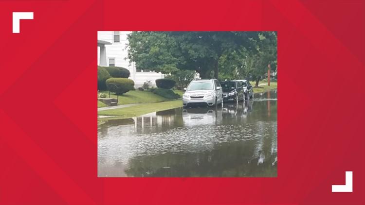 Brett Batesky Olean flooding
