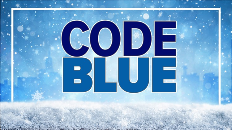 CODE BLUE 32 issued for Buffalo