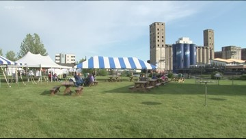 Day 2 of Buffalo River Fest Today