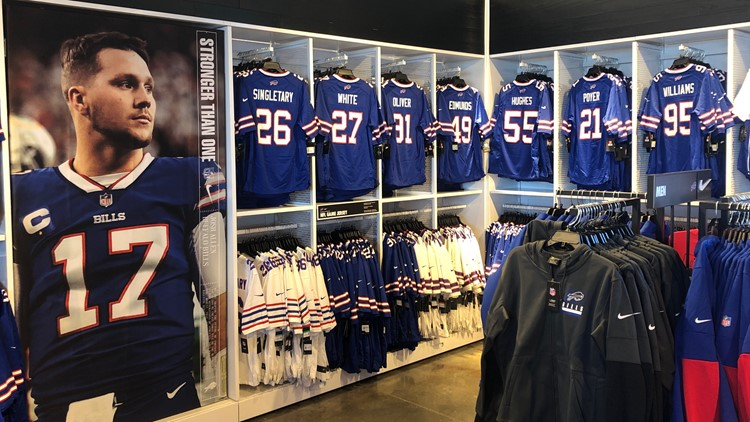 Bills Store at Highmark Stadium prepares for a busy weekend