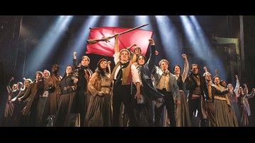 "Tickets on sale for ""Les Miserables"" this week"
