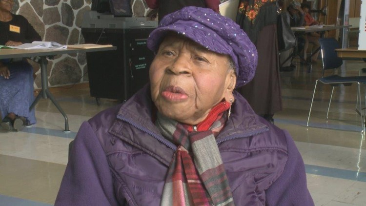 Mamie votes at 108 years old