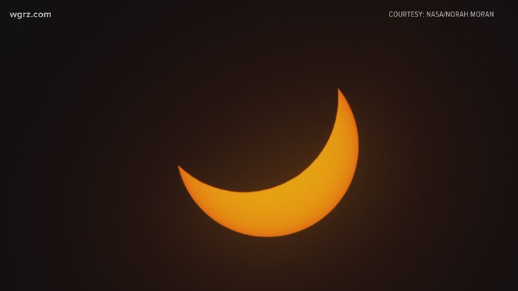 Buffalo Museum of Science members get rooftop view of partial solar eclipse