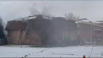 Fire At Lockport Apartment Complex