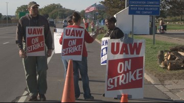 Day 26 in the United Auto Workers' strike against General Motors