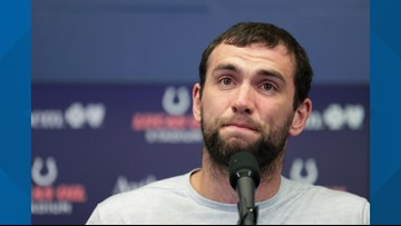 Andrew Luck announces retirement following Colts loss