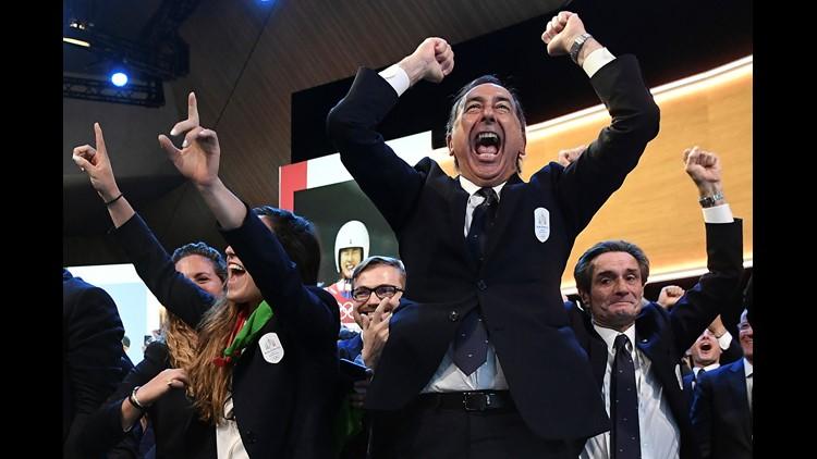 Italy will host 2026 Winter Olympics
