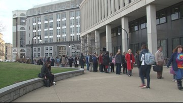 Surprise Security Check Leads to Long Lines at Rath Building