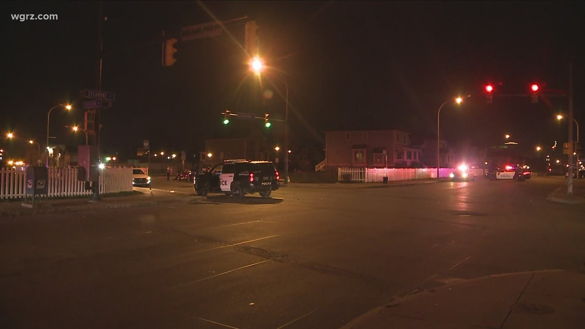 Buffalo Police Department vehicle involved in crash