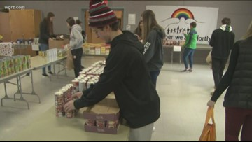 WNY's Great Kids: Williamsville East HS students celebrate Thanksgiving by giving back