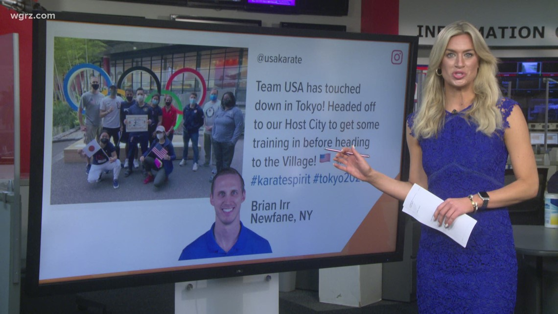 Catching up with WNY Olympians in Tokyo