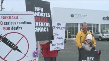 Families Protest Proposed Vaccine Mandates