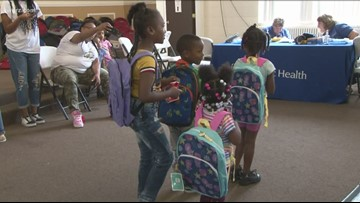 500 Backpacks given out at Community Day